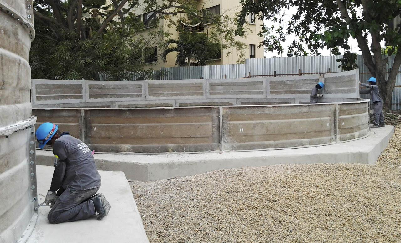 Tanques de almacenamiento de agua for Como fabricar tanques de agua para rusticos